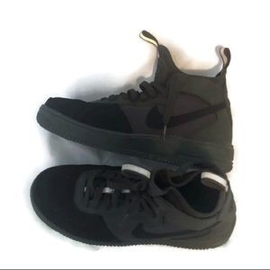 NIKE AIR FORCE 1 olive black SHOES 7.5